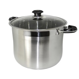 Concord Heavy-duty 18/10 Stainless Steel Gourmet Tri-Ply 24-quart Stockpot
