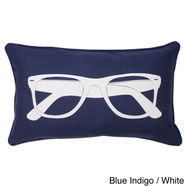 Sunglasses Printed Throw Pillow
