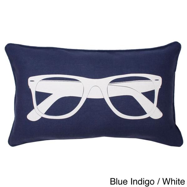 Sunglasses Printed Throw Pillow