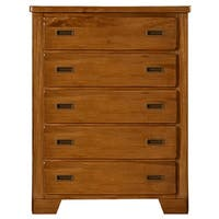 Hardy Brown Finish 5-drawer Chest by Greyson Living