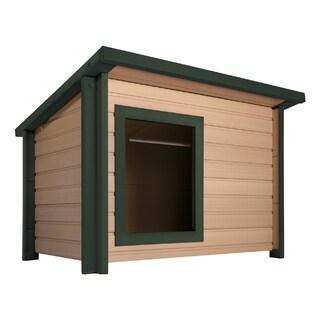 ecoFLEX Insulated Lodge Style Dog House