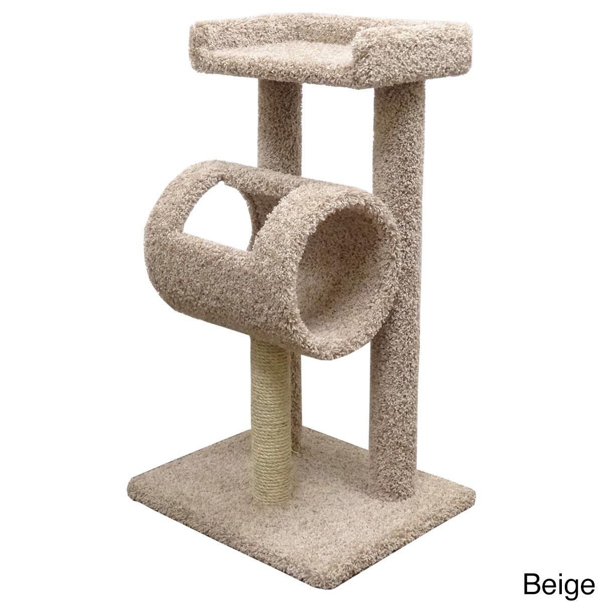 New Cat Condos Premeire Cat Climber Cat Tree (Beige), Brown
