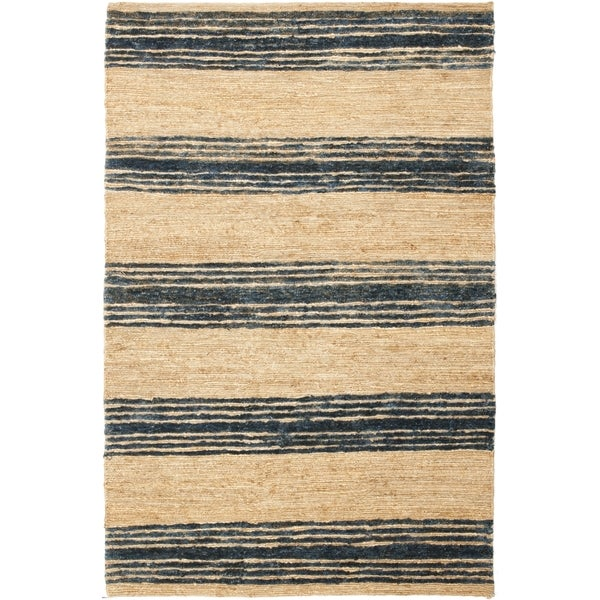 safavieh hand knotted bohemian natural blue wool rug 8 39 x 10
