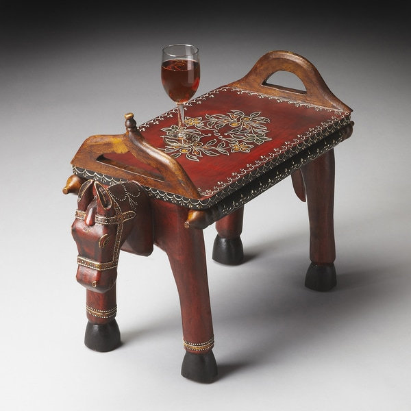 Handmade Exotic Indian End Table India Free Shipping