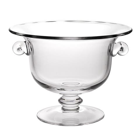 Champion European Mouth Blown Glass 13 x 10-inch Centerpiece/ Punch Bowl