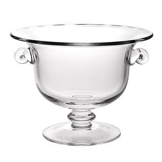 Champion European Mouth Blown Glass 13 x 10-inch Centerpiece/ Punch Bowl|https://ak1.ostkcdn.com/images/products/8060467/P15416958.jpg?impolicy=medium