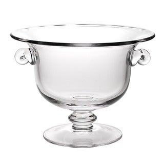 Champion European Mouth Blown Glass 13 x 10-inch Centerpiece/ Punch Bowl
