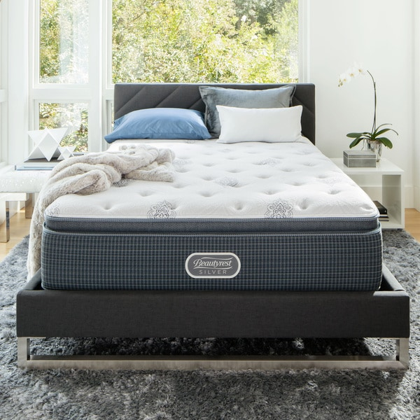 Beautyrest Silver Maddyn Luxury Firm Pillow Top King-size ...