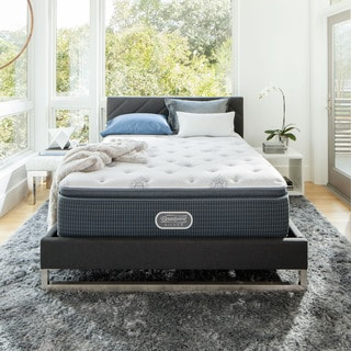 Beautyrest Recharge u0027Maddynu0027 Plush Pillow Top King-size Mattress Set