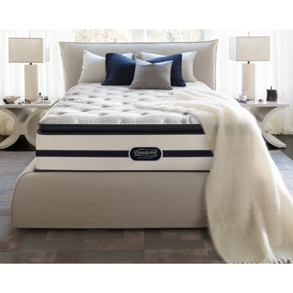 Beautyrest Recharge 'Maddyn' Plush Pillow Top Queen-size Mattress Set