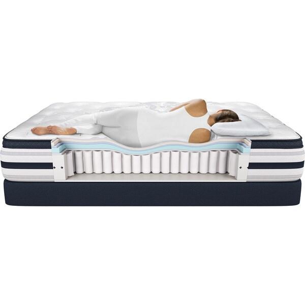 simmons extra firm mattress. beautyrest recharge \u0027lilah\u0027 king-size extra firm mattress set - free shipping today overstock.com 15416990 simmons