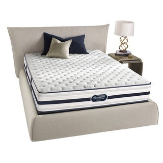 beautyrest recharge extra firm queensize mattress set