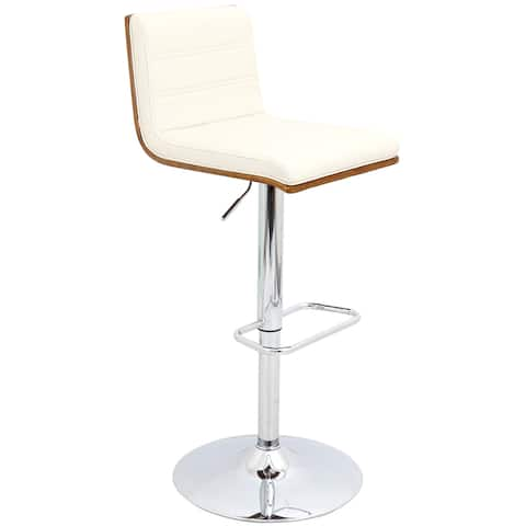 Carson Carrington Ljungby Mid-century Modern Adjustable Barstool