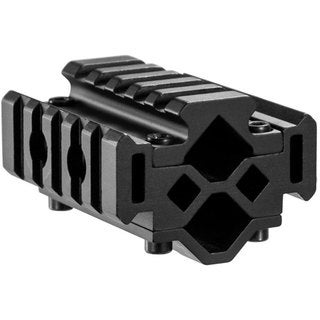 Barska Double Rifle Barrel 5-Section Tri-Rail Mount