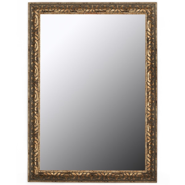 Shop Classic Olde Copper Accent Mirror Free Shipping
