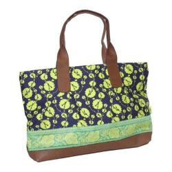 Women's Amy Butler Abina Tote Cotton Vine Lime