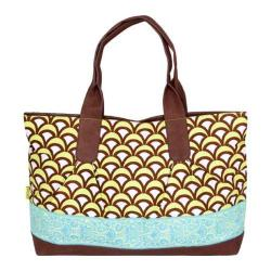Women's Amy Butler Abina Tote Fountains Turquoise