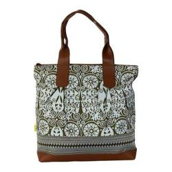 Women's Amy Butler Cara Tote Temple Door Tobacco