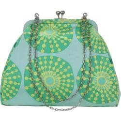 Women's Amy Butler Nora Clutch with Chain Sun Glow Sea Glass