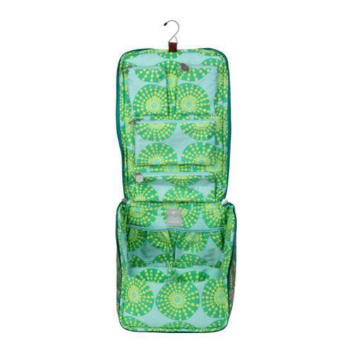 Women's Amy Butler Sweet Traveler Bag Feather Paisley Peacock - Thumbnail 1
