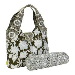 Women's Amy Butler Tulip Diaper Bag Tropicali Tea Leaf