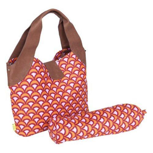 Women's Amy Butler Wildflower Diaper Bag Fountains Tangerine