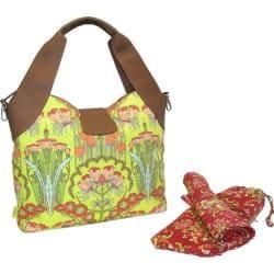 Women's Amy Butler Wildflower Diaper Bag Fuchsia Tree Tomato - Thumbnail 0