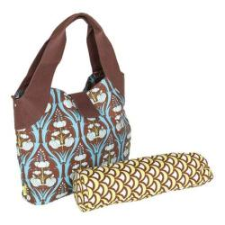 Women's Amy Butler Wildflower Diaper Bag Passion Lily Turquoise - Thumbnail 0