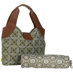 Women's Amy Butler Wildflower Diaper Bag Sun & Moon Sepia