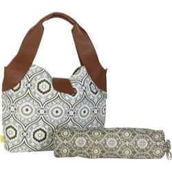 Women's Amy Butler Wildflower Diaper Bag Treasure Box Cinder - Thumbnail 0