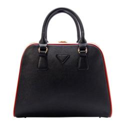 Women's Ann Creek Cranford Satchel Black/Red/White