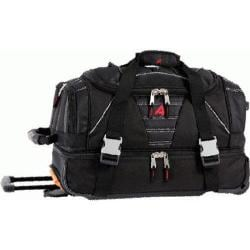 Athalon 21in Equipment Duffel with Wheels Black