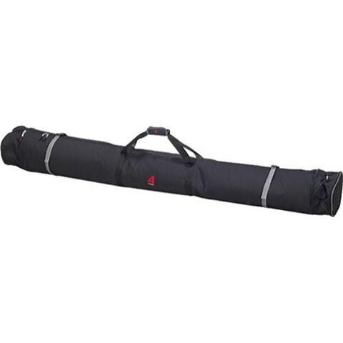 Athalon Expanding Double Ski Bag Padded Black