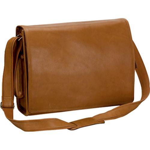 3f5bb04891aa Shop Bellino 6094 The Cancun Leather Laptop Messenger Bag - Free Shipping  Today - Overstock.com - 8062724
