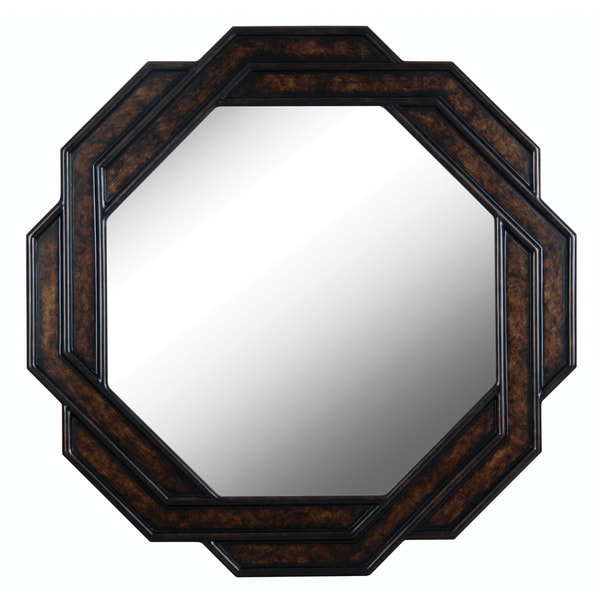 Weaver 34-inch Bronzetone Wall Mirror