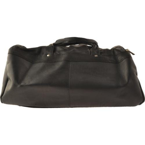 David King Leather 300 Duffel Bag Black