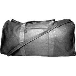 David King Leather 304 Duffel Bag Black
