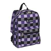 Everest Pattern Purple Bold Plaid Backpack