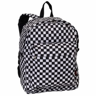 Everest Checkered Pattern Printed Backpack