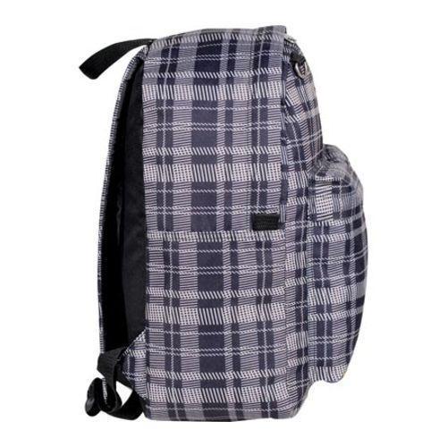 Everest Black/Grey Square Pattern Printed Backpack - Thumbnail 2