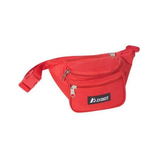 Everest Signature Red Fanny Pack