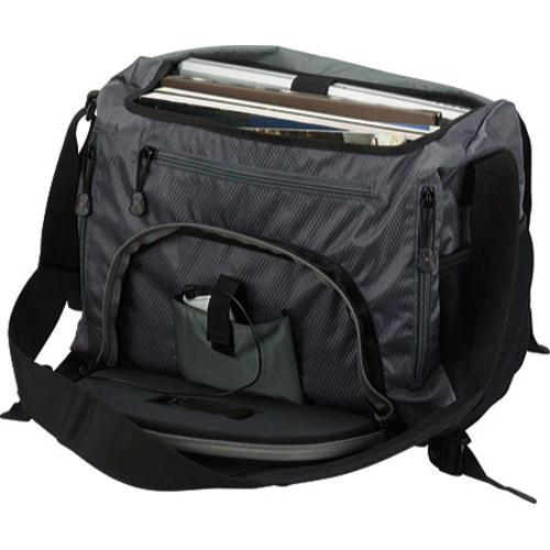 Thumbnail 2, G-Tech Grey/Black Music Laptop Messenger Bag. Changes active main hero.