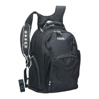 G-Tech Techno Black 15-inch Laptop Backpack