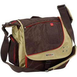 G-Tech The Professional Brown Laptop Messenger Bag