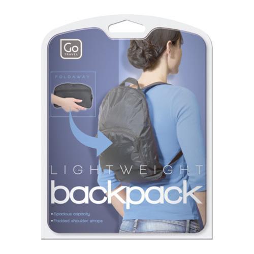 Go Travel Packaway Pack (Set of 2) Black