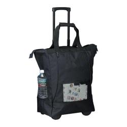 Goodhope 1168 On The Go Rolling Tote Black