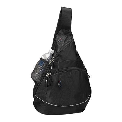 Goodhope Black Monsoon Sling Backpack (Set of 2)