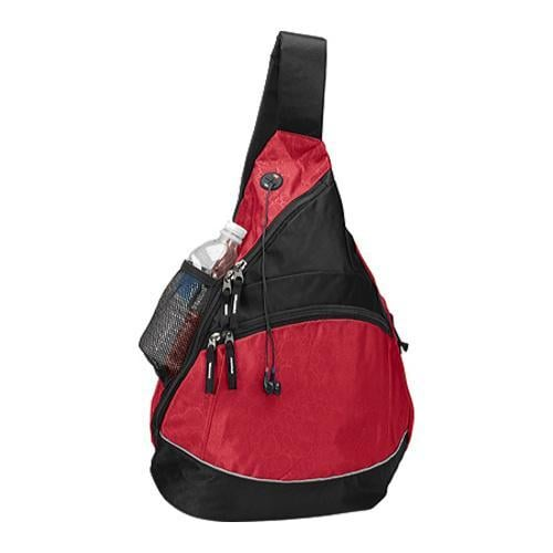 Goodhope Red Monsoon Sling Backpacks (Set of 2)