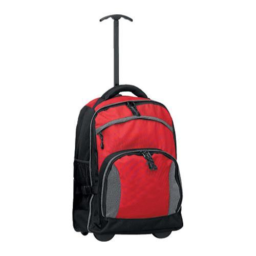 Goodhope 6306 The Tundra Rolling Backpack Red/Black