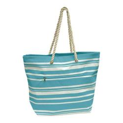 Goodhope P1660 Light Blue Stripe Tote